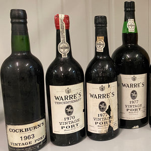 1970 Warre's Porto Vintage, Portugal, 700 ml