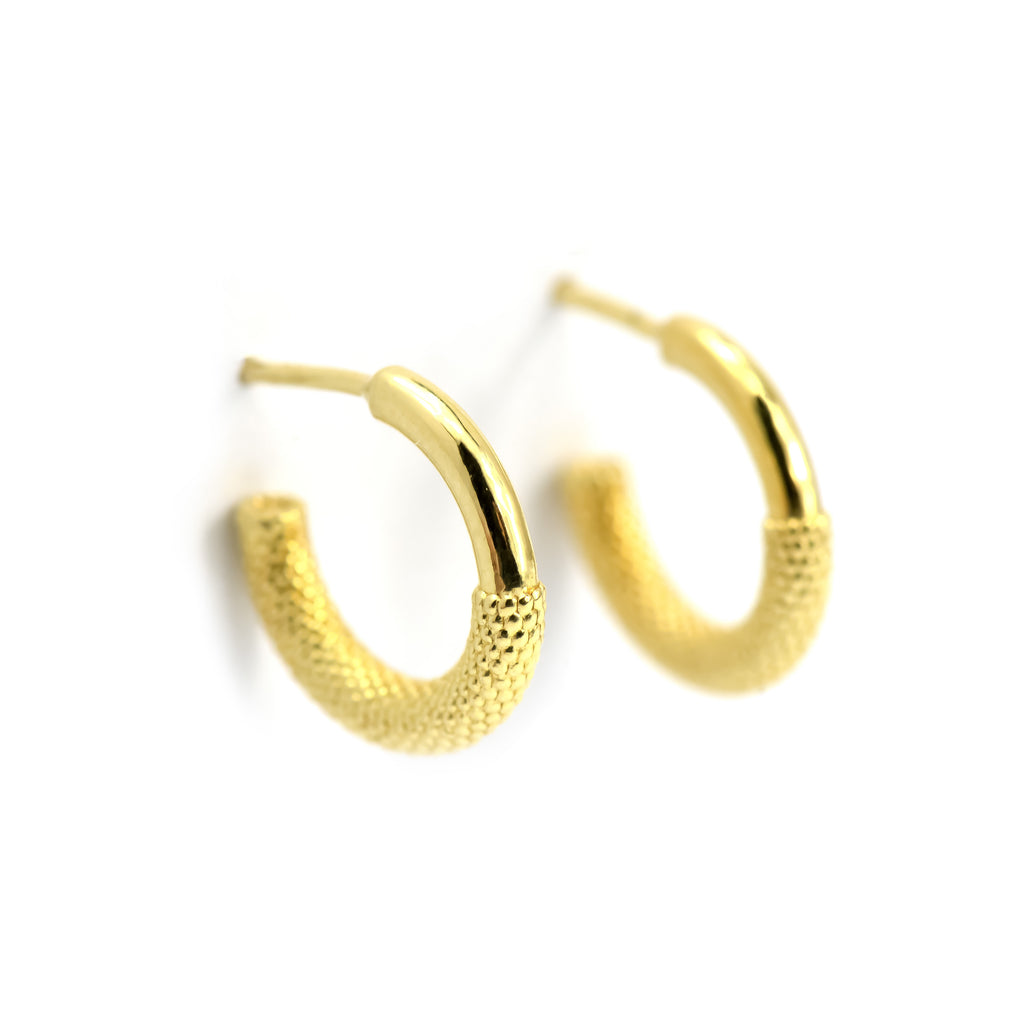 Nubia Hoop Earrings - Manari Design