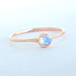 Moonstone 14k Gold Ring - Manari.eu