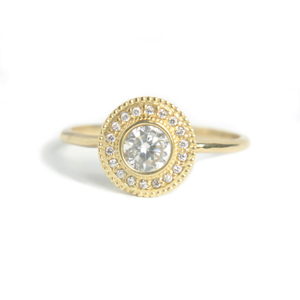 Malika Diamond Ring - Manari Design