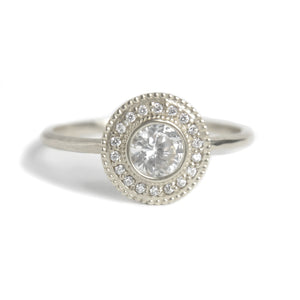Malika Diamond Ring - MANARI.eu