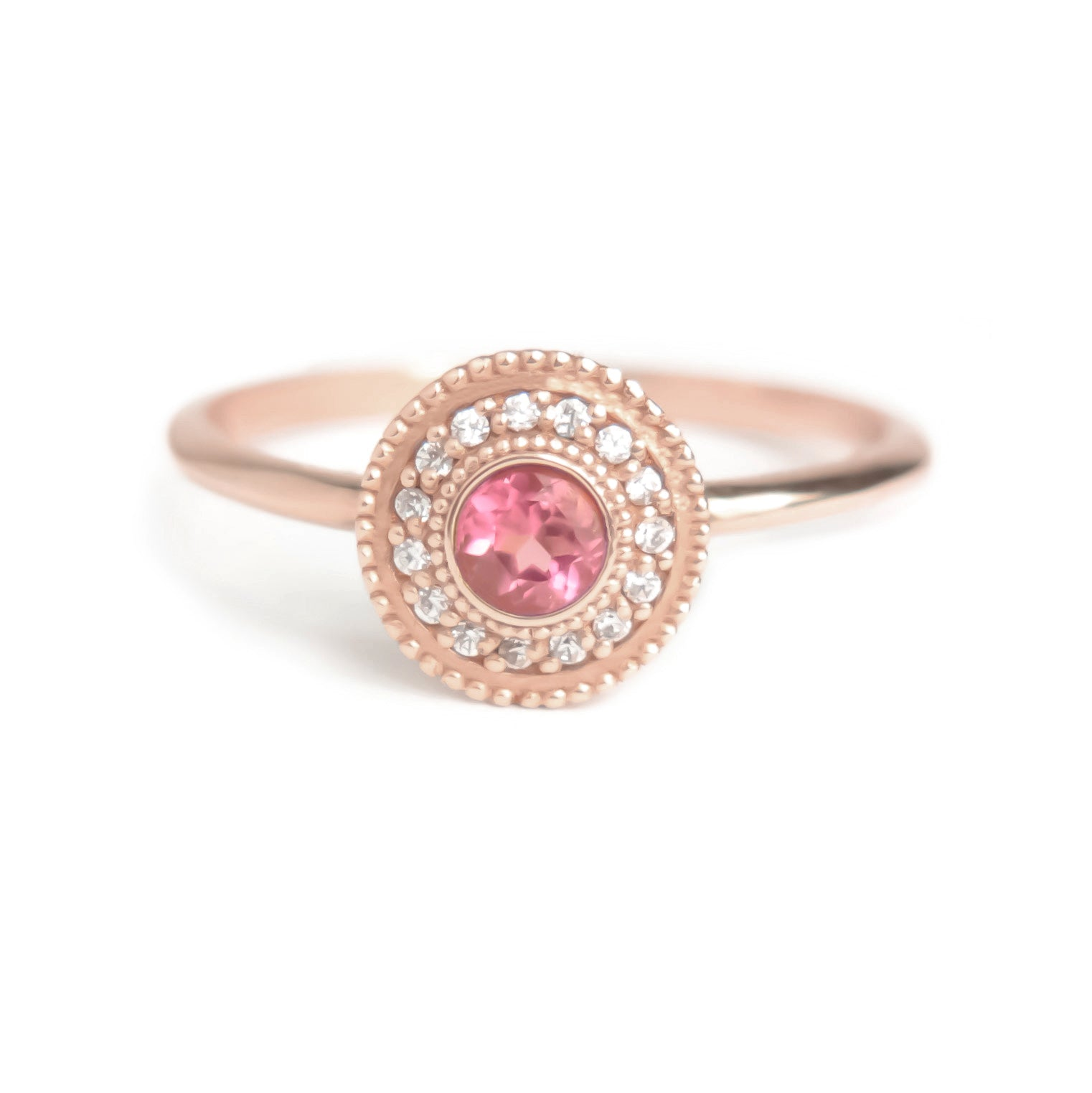 Leila Tourmaline Diamond Ring - Manari Design
