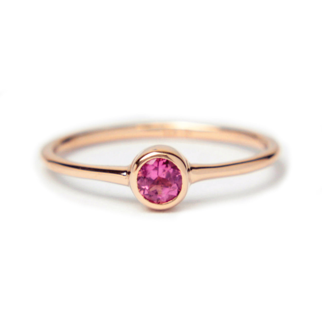 Tourmaline 14k Gold Ring - Manari Design