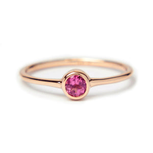 Tourmaline 14k Rose Gold Ring - Manari Design