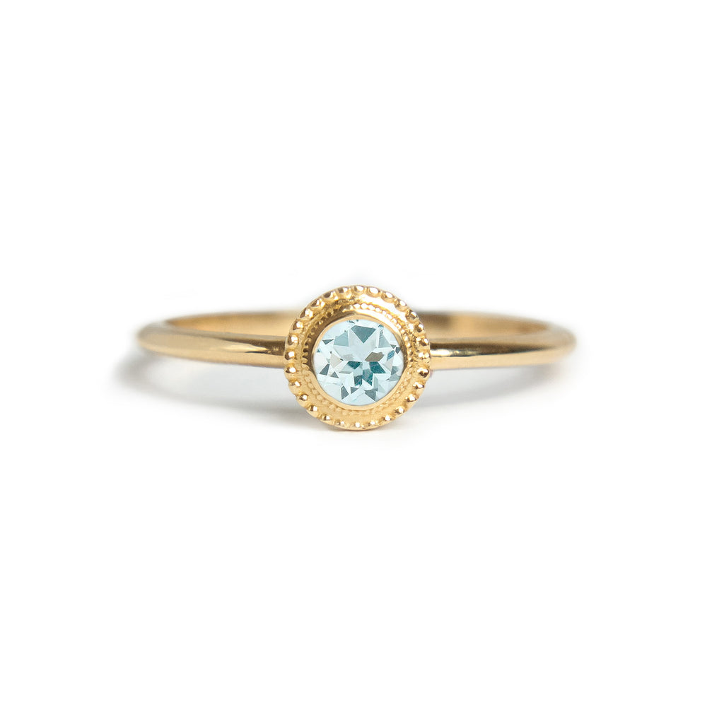 Nadine Aquamarine Ring - Manari Design