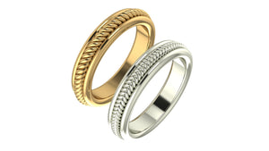 Braid Wedding Band - Manari Design