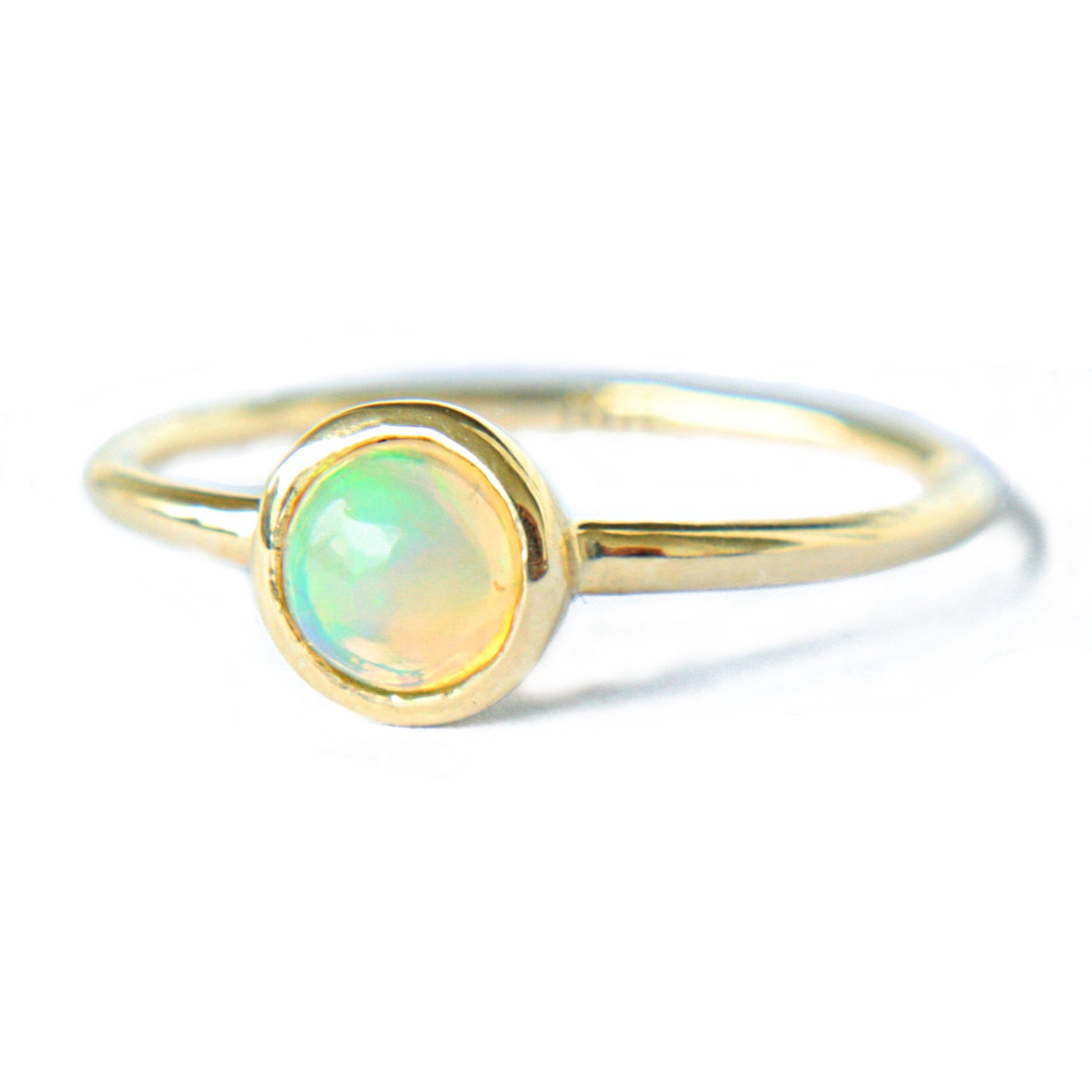 Opal 14k Gold Ring - Manari Design