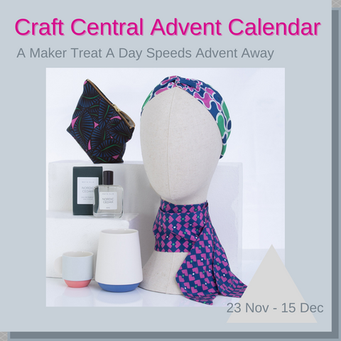 Join us on @craftcentraluk Instagram & Facebook for their Craft Central Advent Calendar.