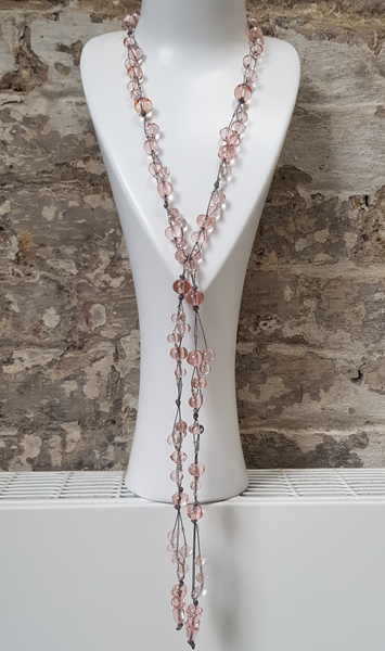 Pink Champagne Lariat