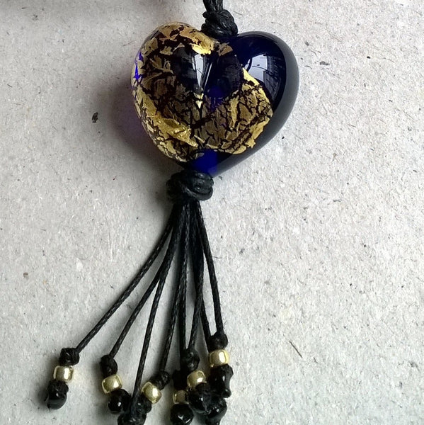 Egypt Heart with Tassel