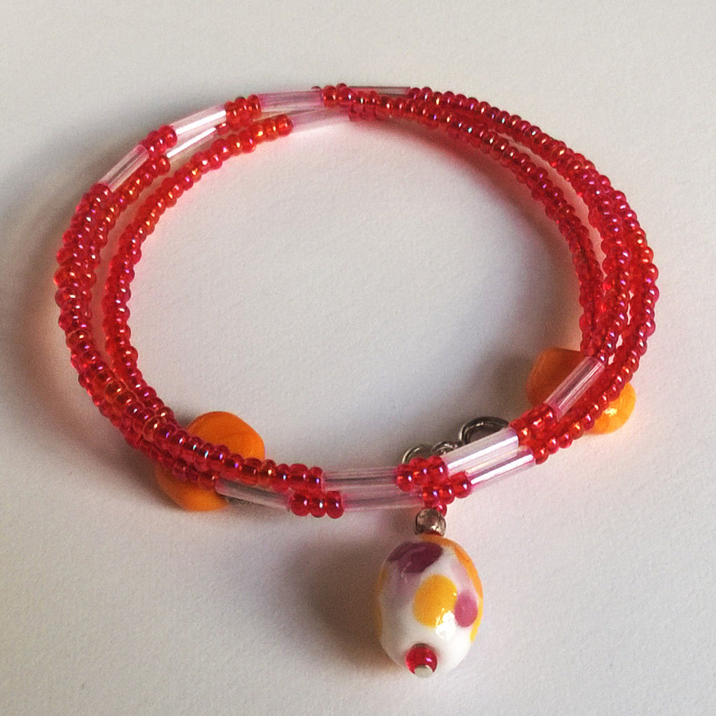 Mango and Pomegranate Bracelet