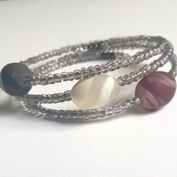 Three Chocolates Bracelet