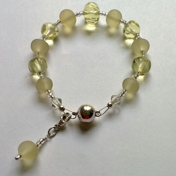 Prosecco Bracelet with Charm