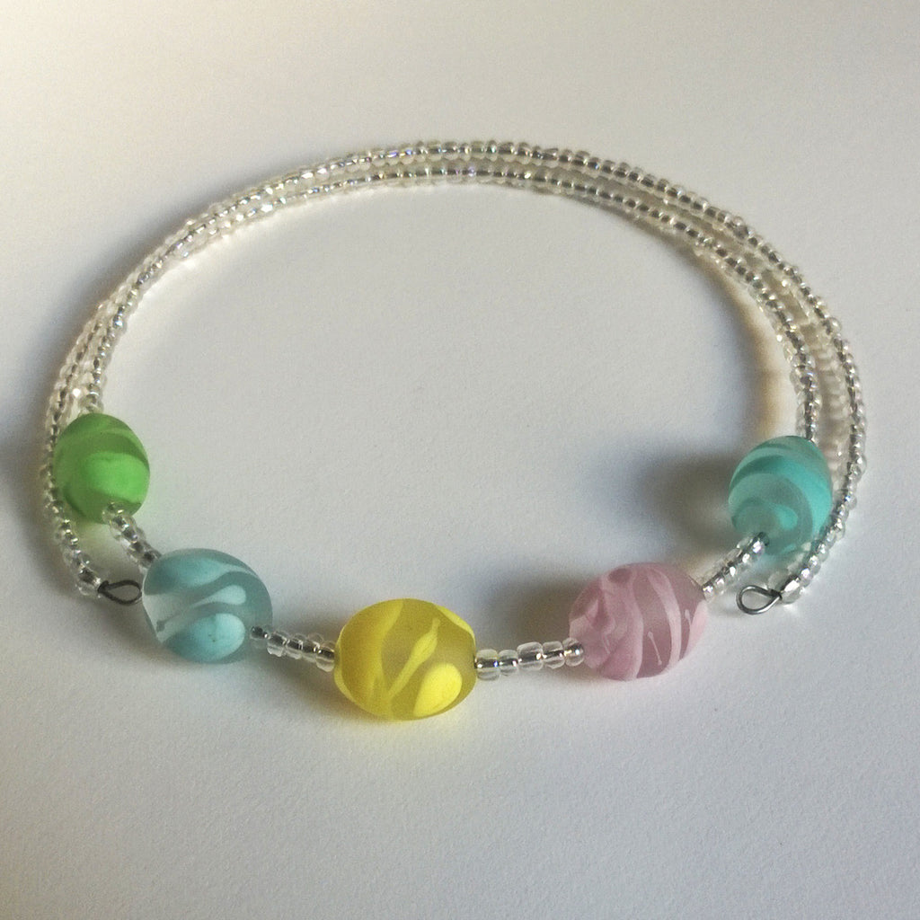 Frosted Cool Sorbet Choker