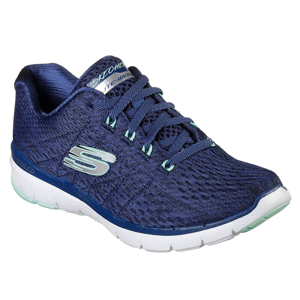 Skechers Flex Appeal 3.0 - Satellites Trainers-ShoeShoeBeDo