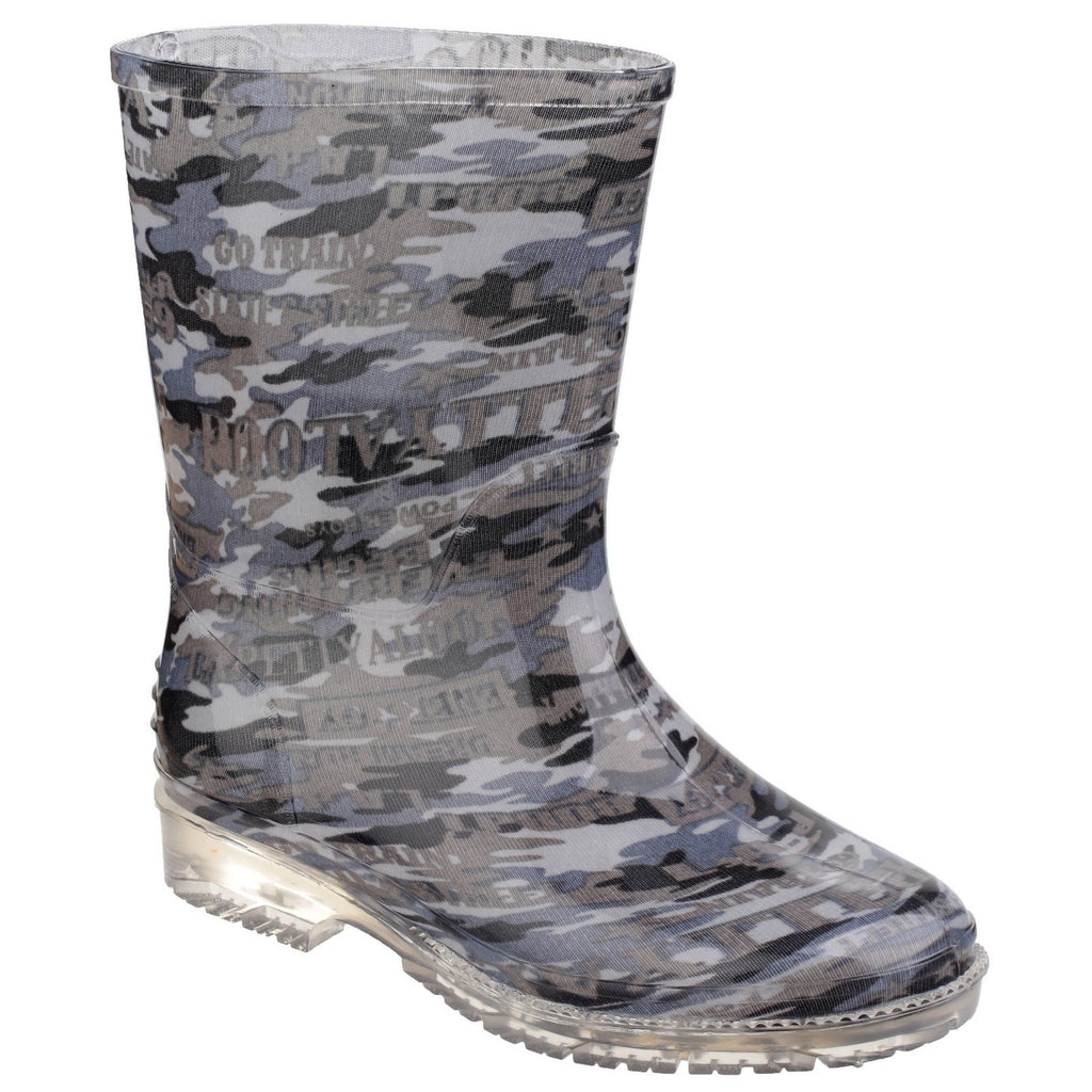 Cotswold PVC Camoflague Wellington Boots-ShoeShoeBeDo