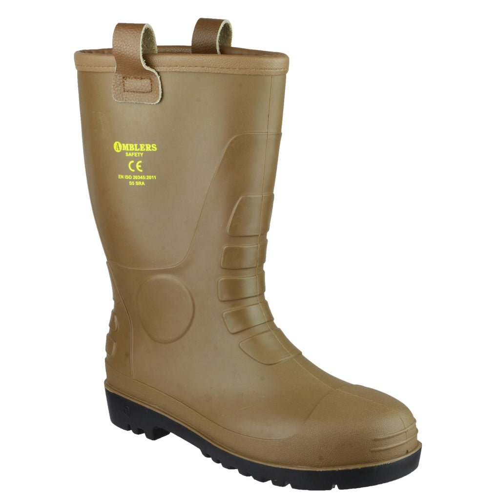 Amblers FS95 Rigger Safety Wellington Boots