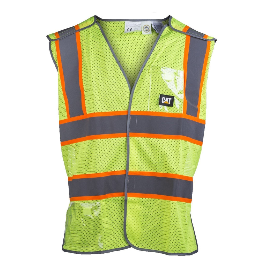 CAT Caterpillar 5 Point Break Away Vest-ShoeShoeBeDo