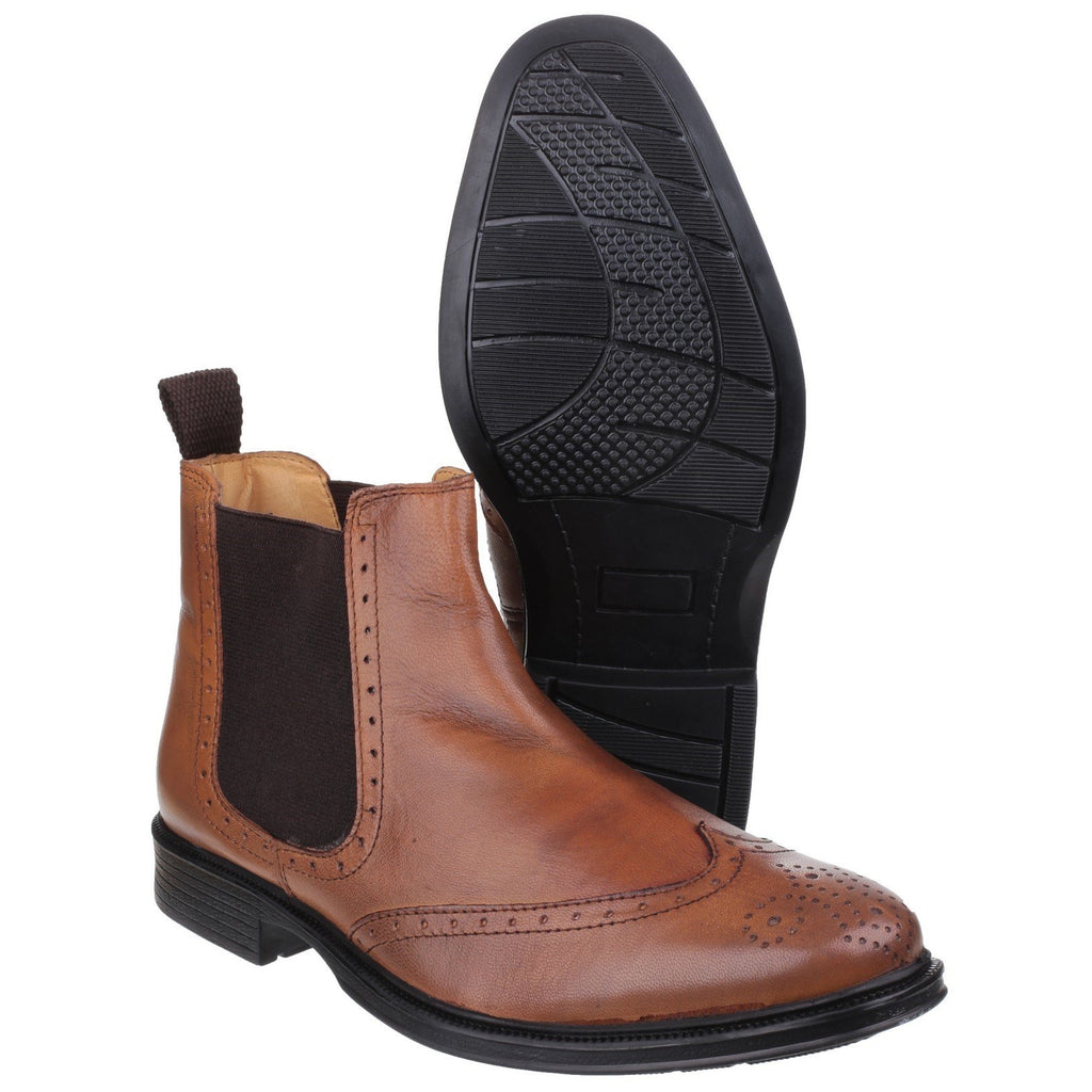 Cotswold Nettleton Brogue Chelsea Boots