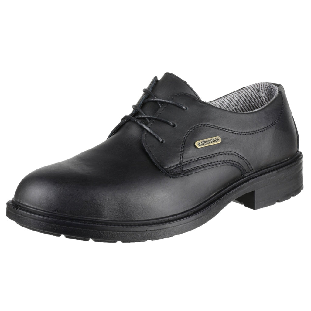 Amblers Safety FS62 Mens Leather S3 SRC W/P Safety Smart Shoes Black 6 9MXC1DI