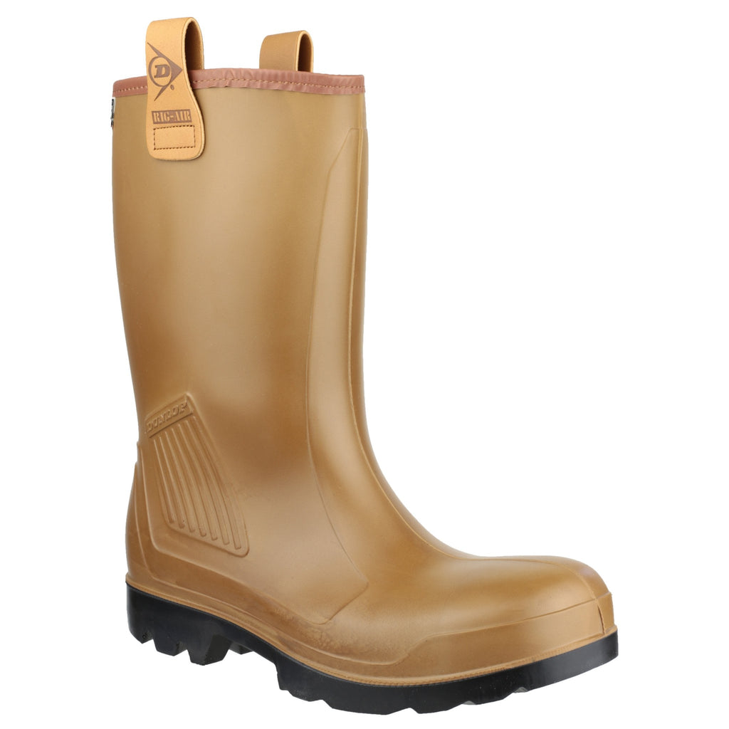 Dunlop Purofort Rig Air Safety Wellingtons-ShoeShoeBeDo