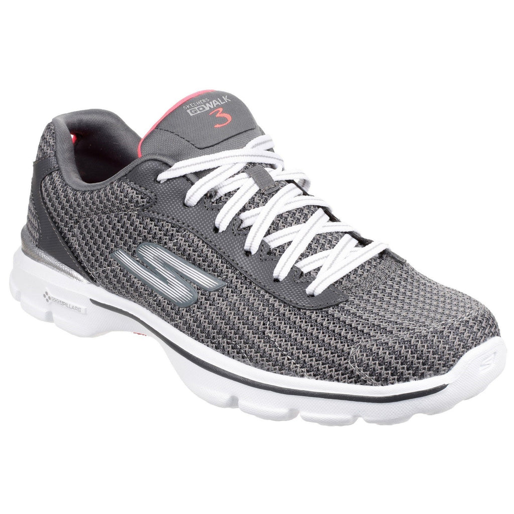 Skechers Go Walk 3 FitKnit Sports Trainers