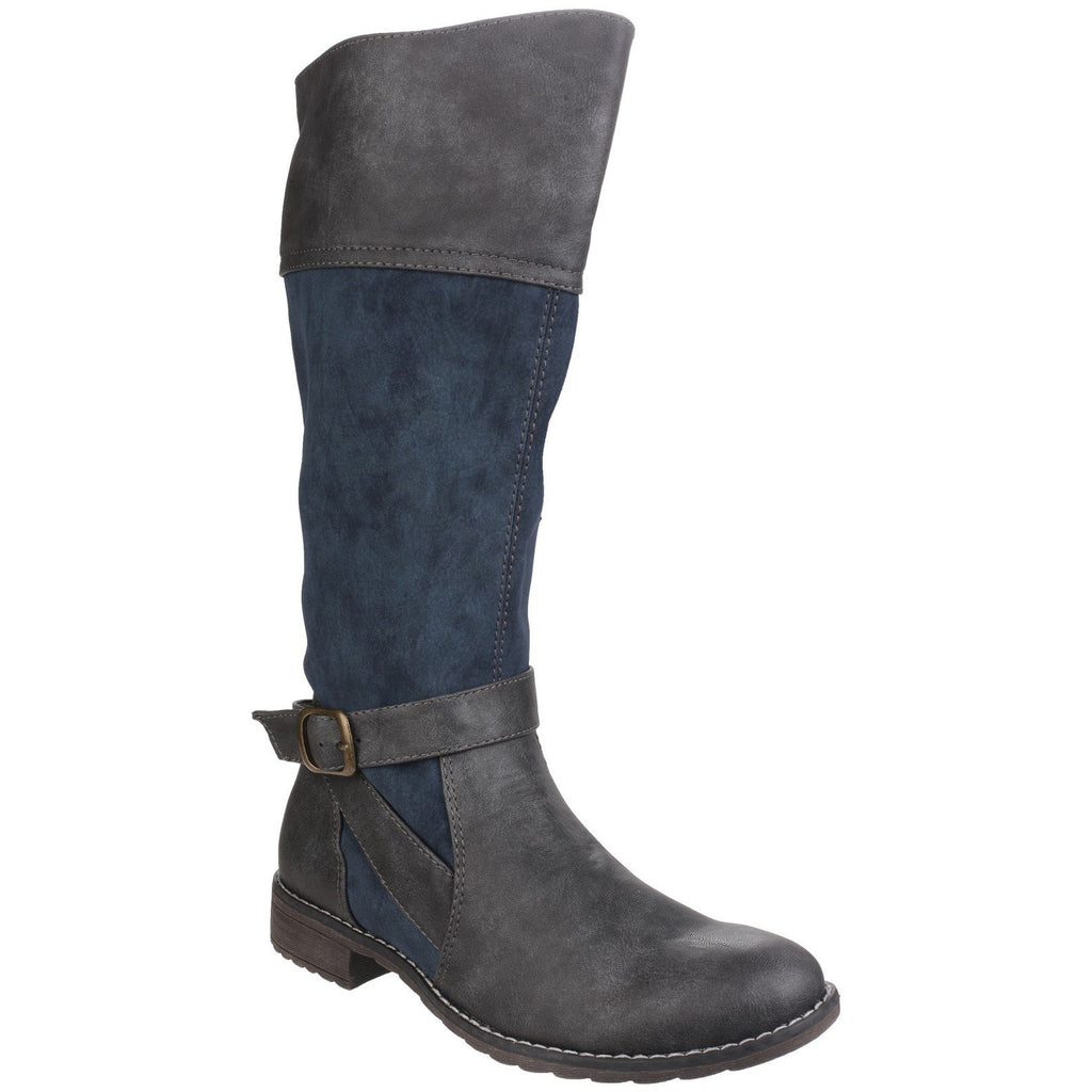 Divaz Garbo Knee High Boots-ShoeShoeBeDo
