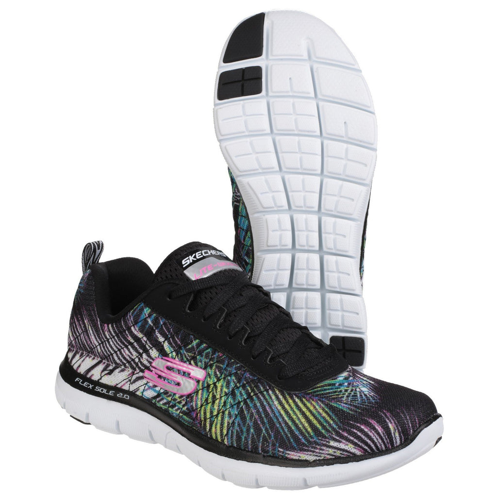 Skechers Flex Appeal Tropical Bree Sports Trainers