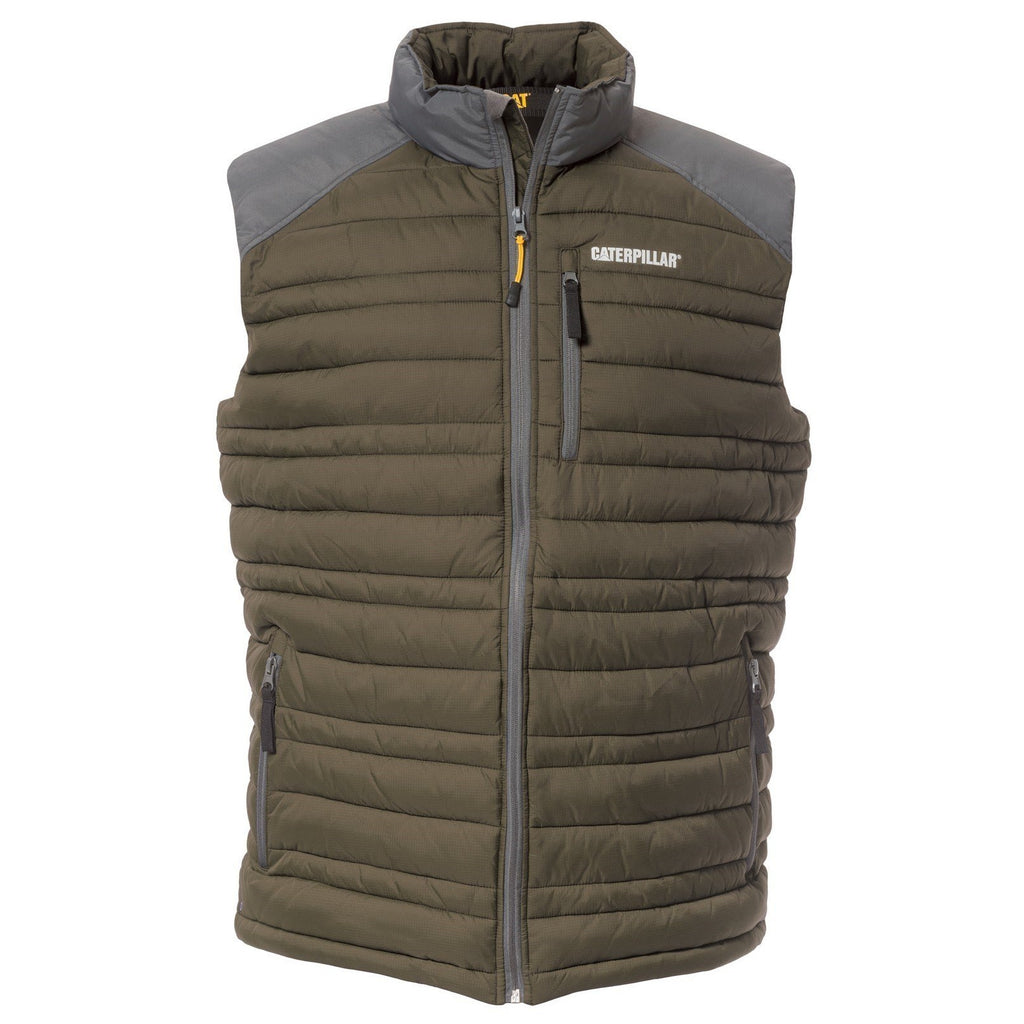 CAT Caterpillar Defender Insulated Vest-ShoeShoeBeDo
