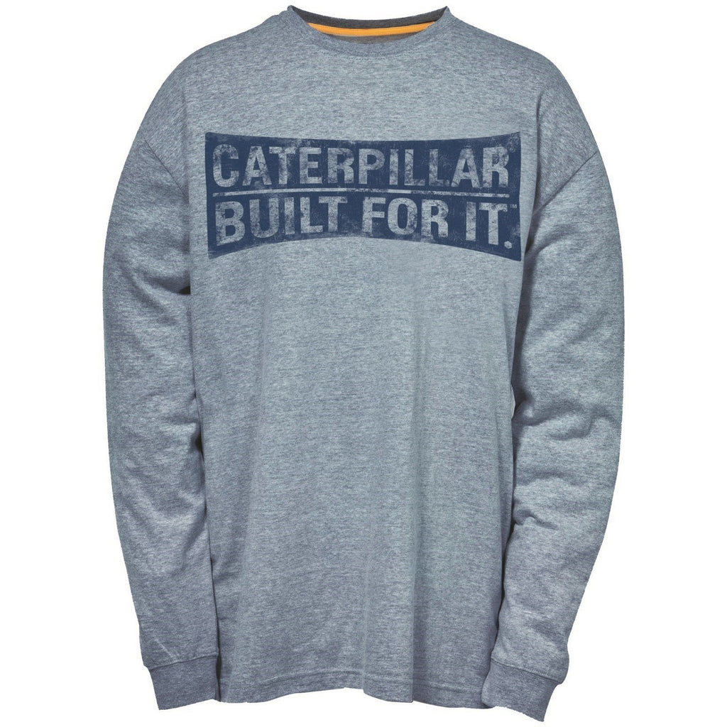 CAT Caterpillar Curved Banner T-Shirt-ShoeShoeBeDo