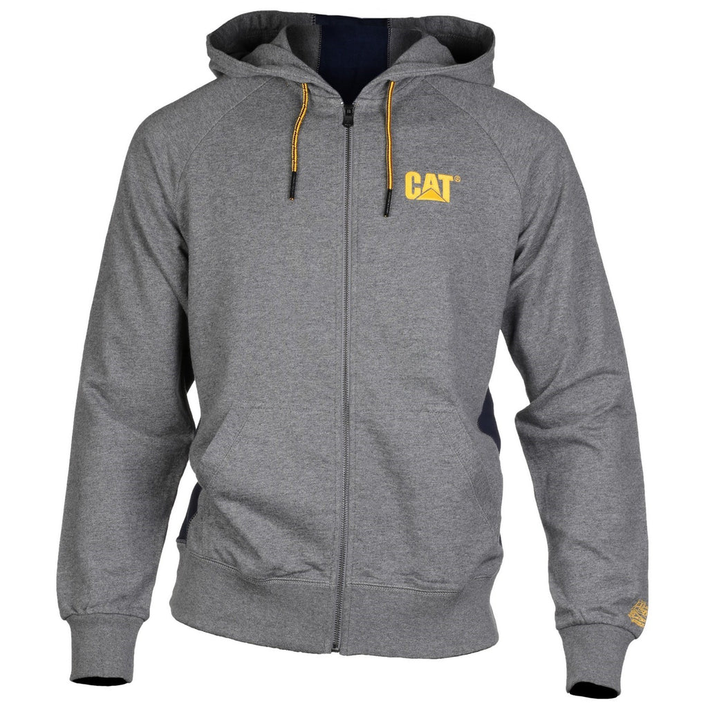 CAT Caterpillar Logo Stripe Hoodie