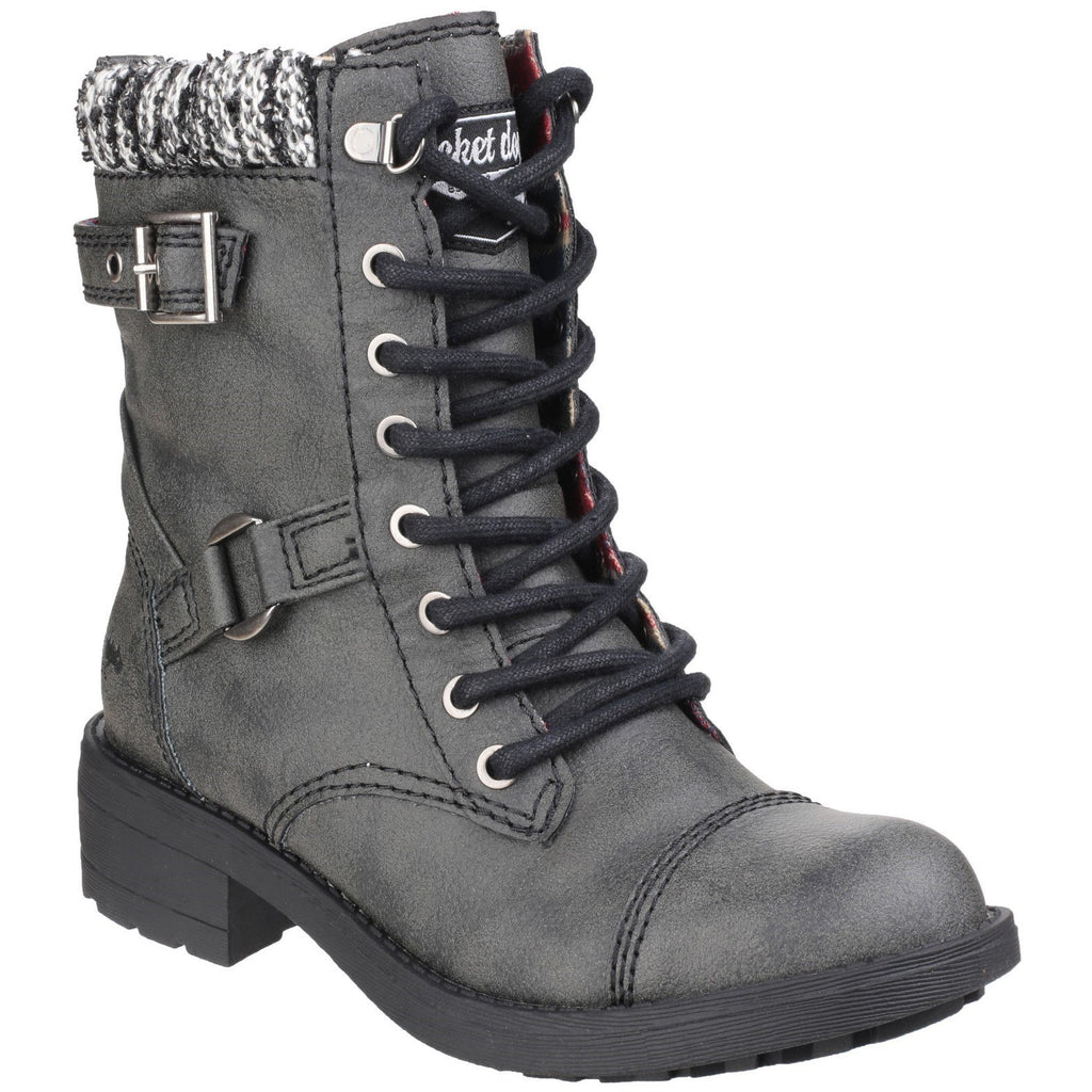 Rocket Dog Thunder Biker Boots-ShoeShoeBeDo