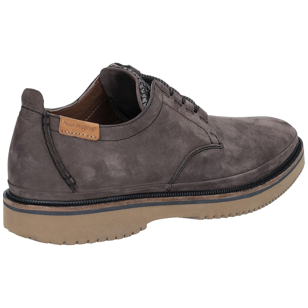 Hush Puppies BERNARD CONVERTIBLE OXFORD Mens Casual Lace Up Suede Shoes Navy