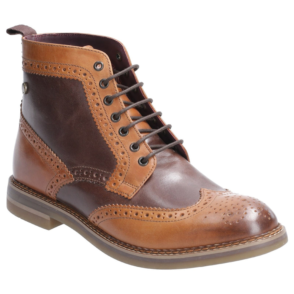 Base London Banner Brogue Boots