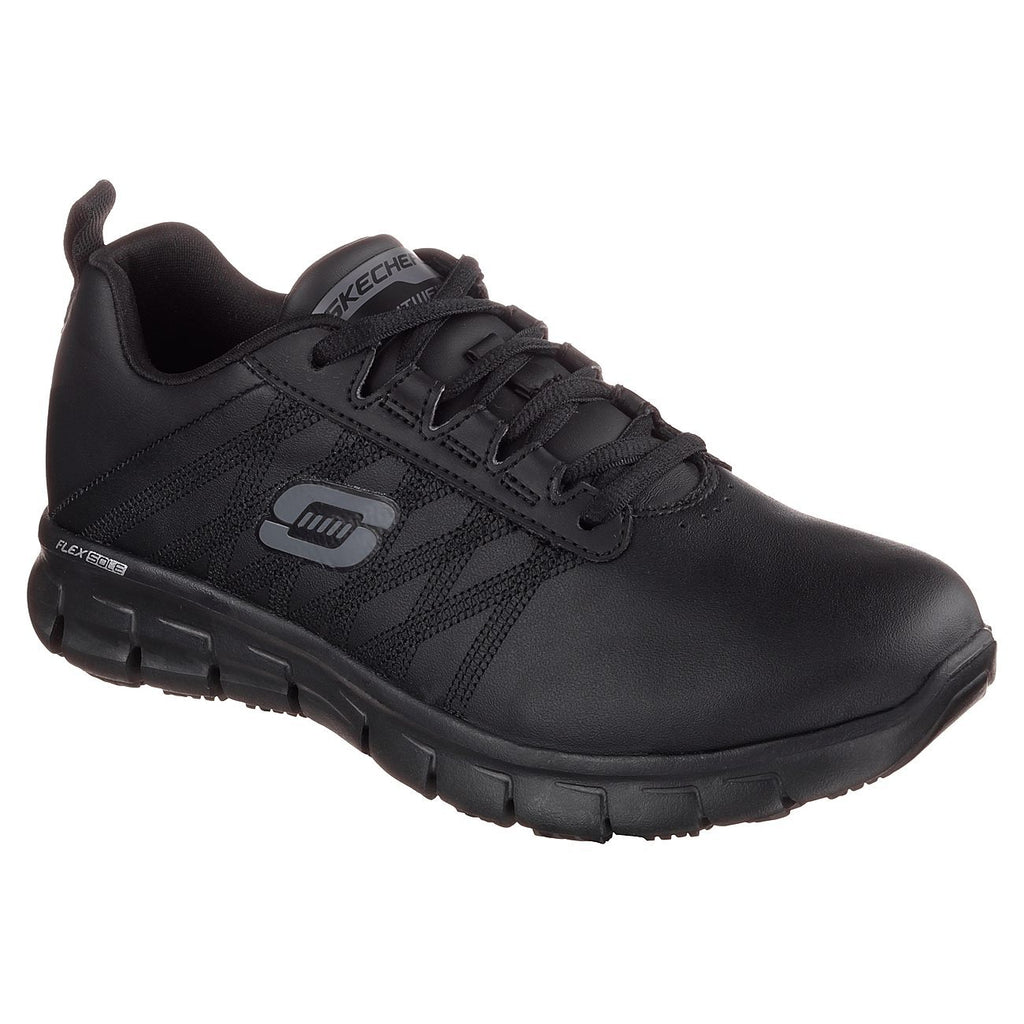 Skechers Work Relaxed Fit: Sure Track - Erath Trainers-ShoeShoeBeDo