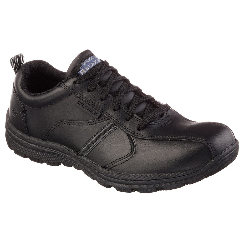 Skechers Work Relaxed Hobbes Frat SR Shoes-ShoeShoeBeDo