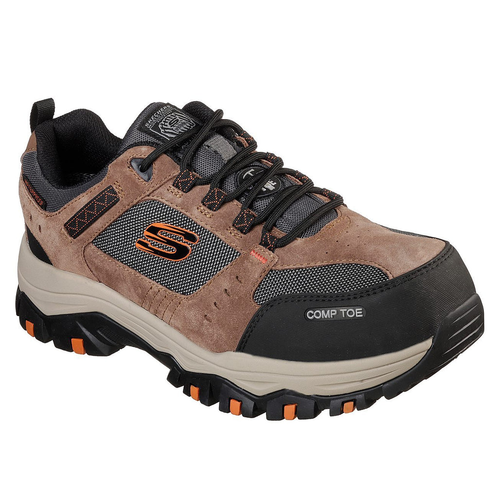 Skechers Work: Greetah Comp Toe Trainers