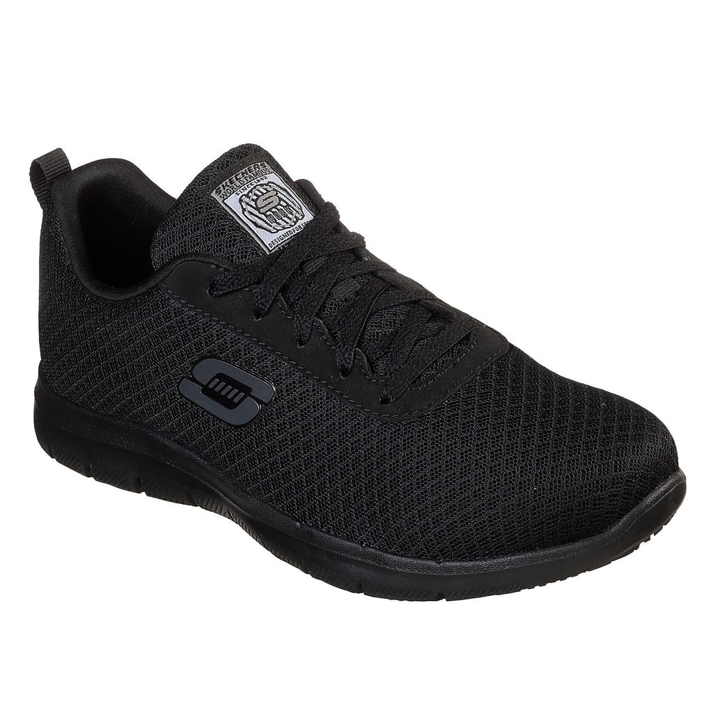 Skechers Work Relaxed Fit: Ghenter Bronaugh SR Trainers-ShoeShoeBeDo