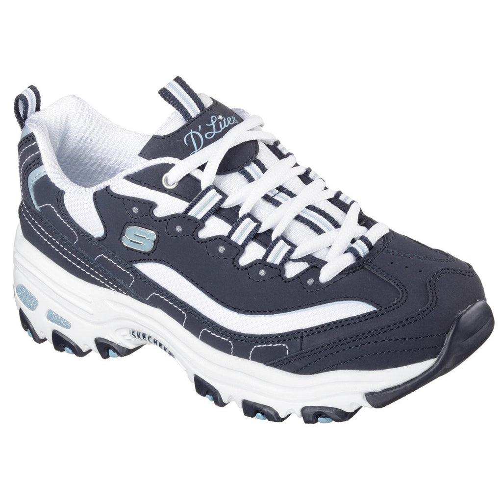 Skechers D'Lites Biggest Fan Trainers-ShoeShoeBeDo