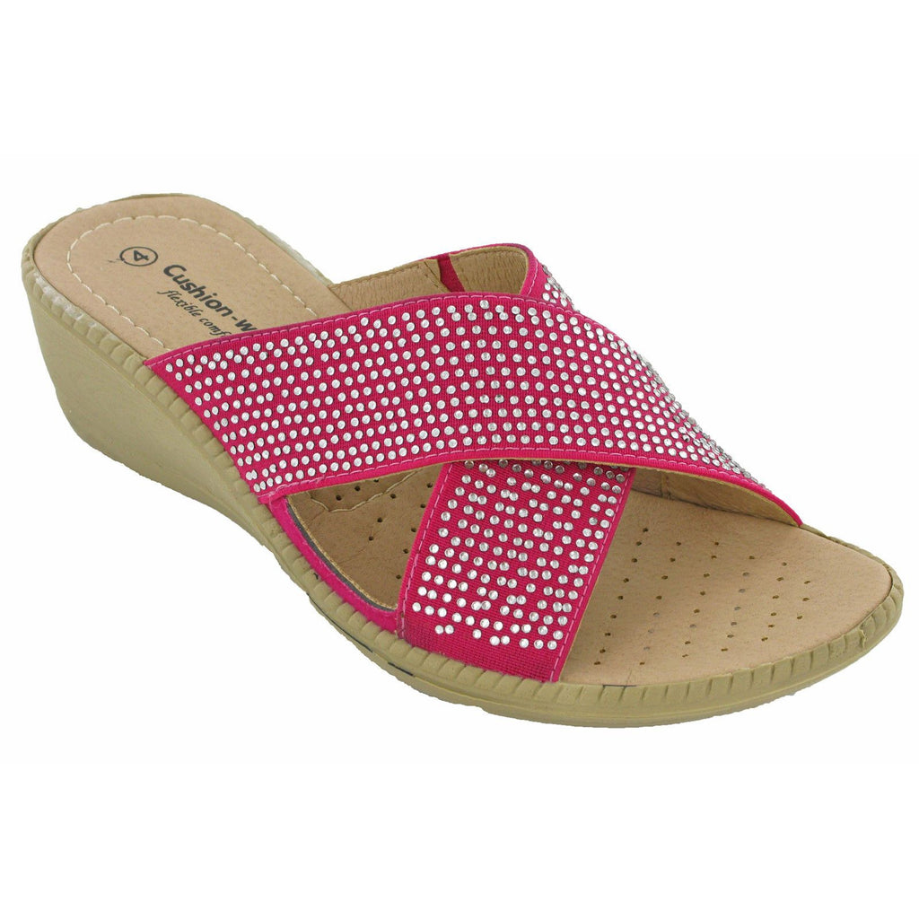 Cushion Walk Britney Sandals-ShoeShoeBeDo