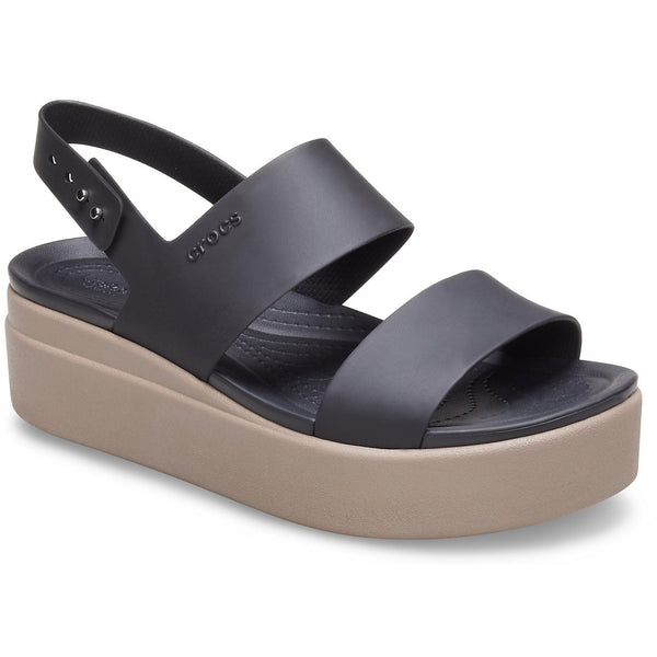 Crocs Brooklyn Low Wedge Sandals