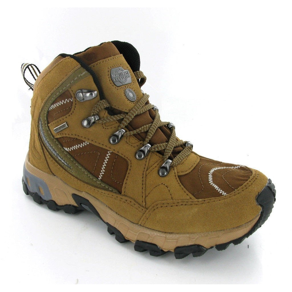 Northwest Suede Hiking Boots-ShoeShoeBeDo