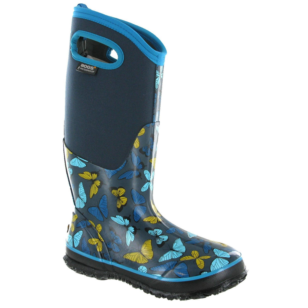 Bogs Butterfly Wellington Boots-ShoeShoeBeDo