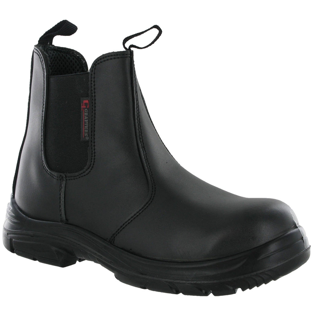 Grafters Wide Safety Dealer Boots