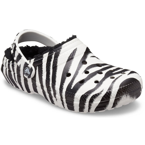 Crocs Classic Lined Animal Print Clogs