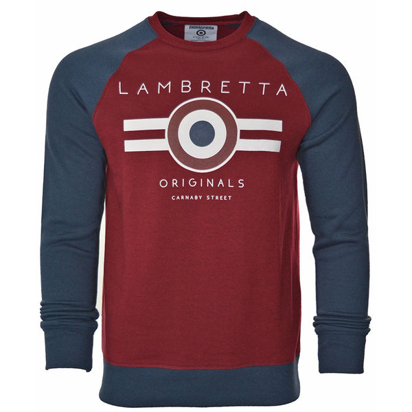 Lambretta Colour Block Sweatshirt