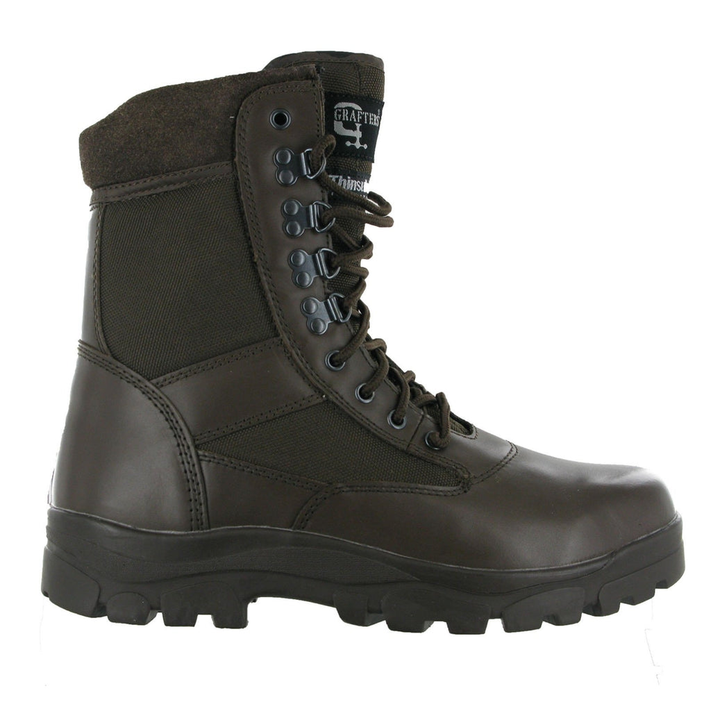 Grafters G-Force Combat Boots-ShoeShoeBeDo