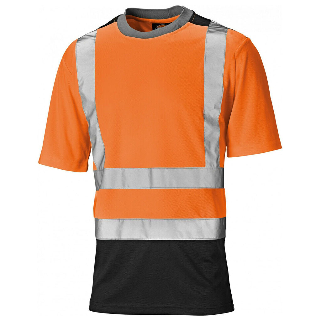Dickies Two Tone Hi Vis T-Shirt-ShoeShoeBeDo