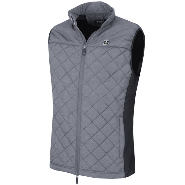 Island Green Qulited Gilet