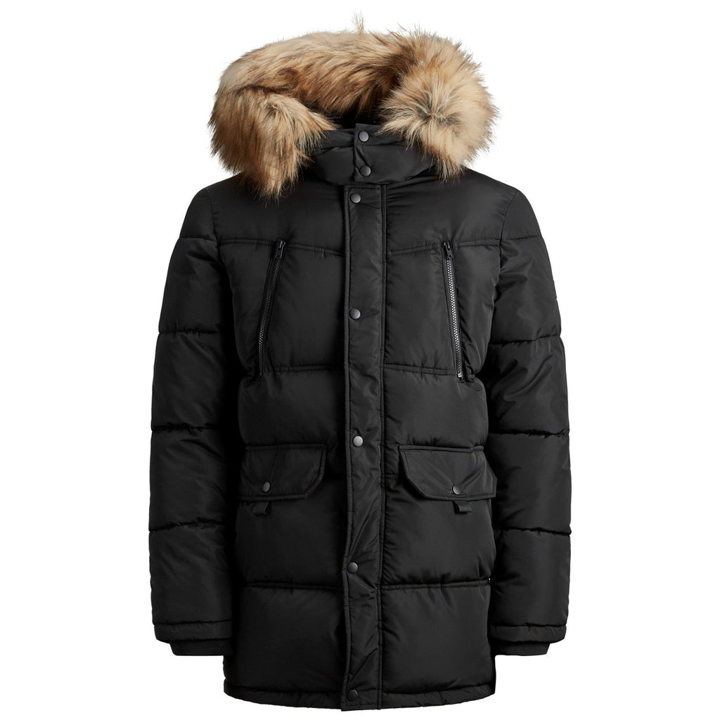 Jack & Jones JCOMario Fur Puffer Jacket